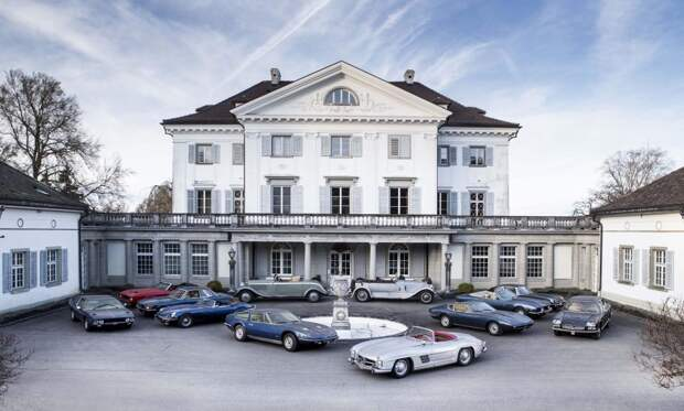 Коллекция классических автомобилей стоимостью более £2 000 000 обнаружена в Швейцарском особняке