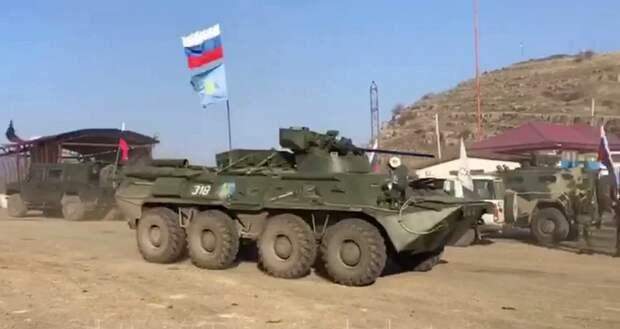 Политики в Азербайджане требуют вывода российских миротворцев из Нагорного Карабаха