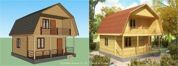 Дачный домик - возвращение к мини. 5 самых популярных проектов небольших дачных домиков