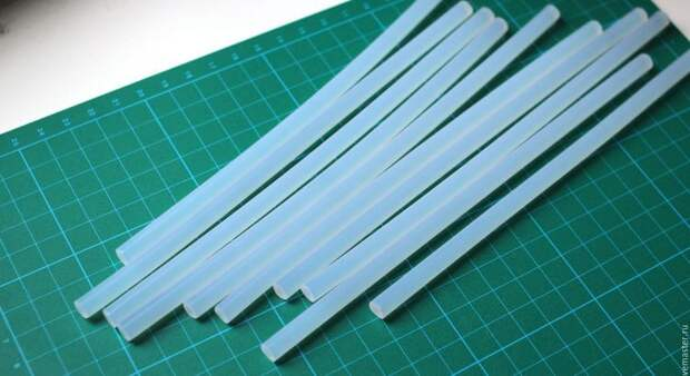 Использование клеевого стержня без термопистолета