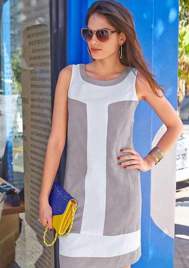 Платья и сарафаны из льна — натуральная одежда