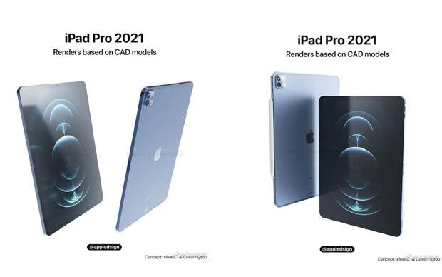 В Сети появились параметры флагманского планшета iPad Pro 5