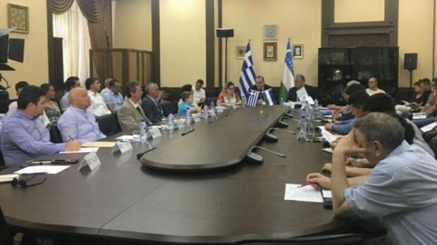 Греция наладит производство оливкового масла вУзбекистане