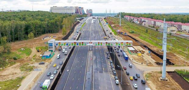 Закончена реконструкция еще одного участка Калужского шоссе