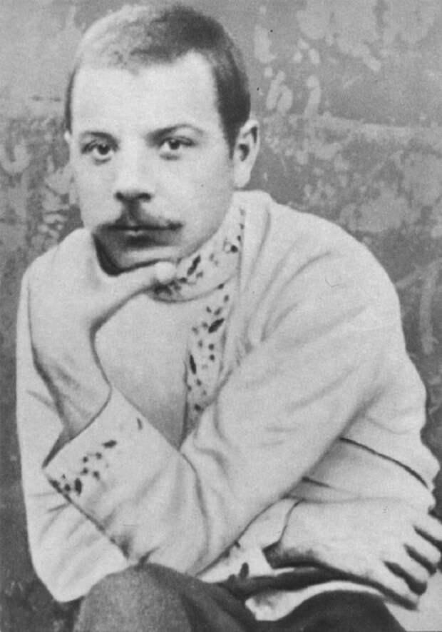 Портрет Климента Ефремовича Ворошилова в годы ссылки. 1910 год.