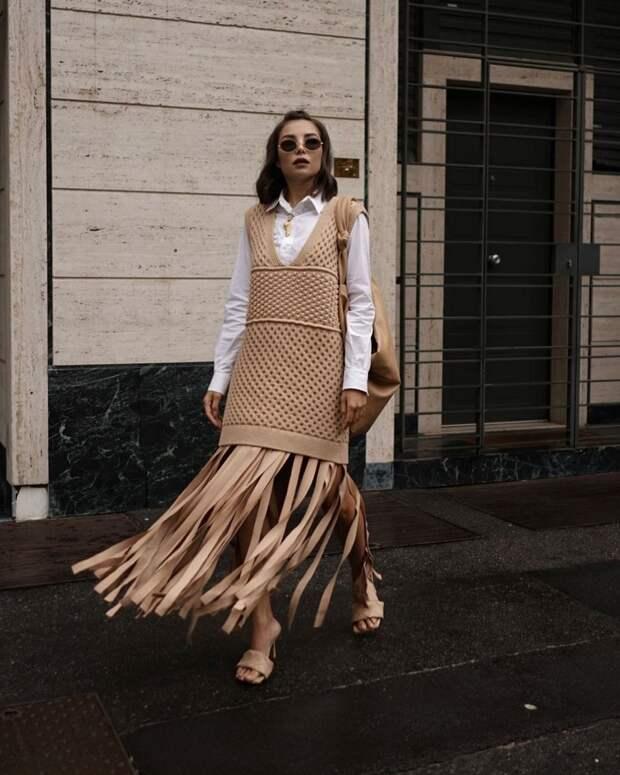 Модные жилетки 2021-2022: идеи, как носить женский жилет