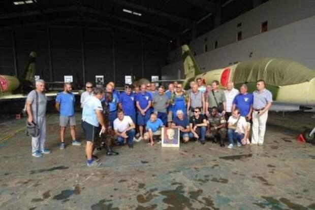 Украинские специалисты завершили модернизацию истребителей Albatros для ВВС Уганды