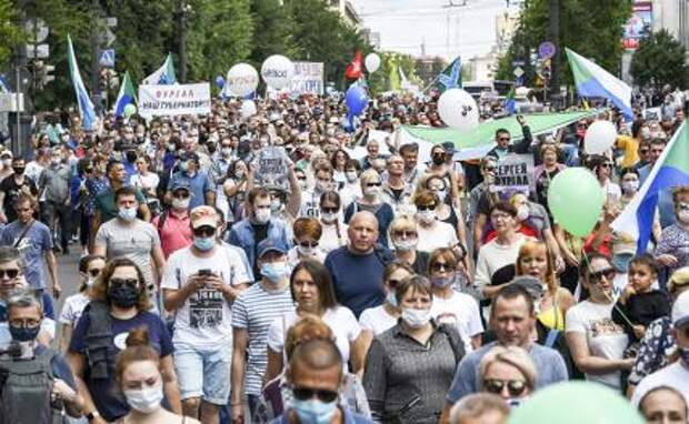 Хабаровские активисты о двух месяцах протеста: Нас ведет глубокое чувство обиды за страну