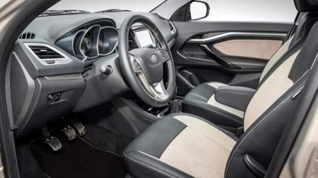 В Сети появились первые изображения новой Lada Facelift