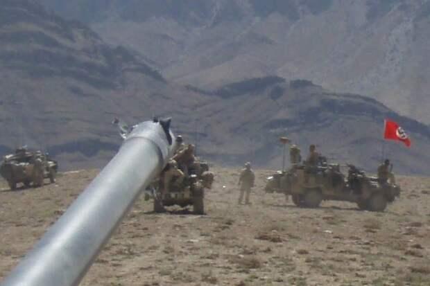 Над австралийскими войсками в Афганистане развевается нацистский флаг Политика, Австралия, перевод, нацизм, длиннопост