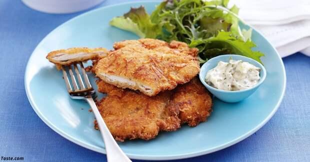 Шницель с курицей и сыром: вот идеальный рецепт