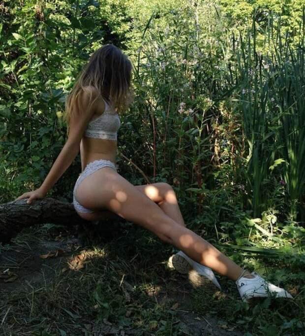 Девушки на природе