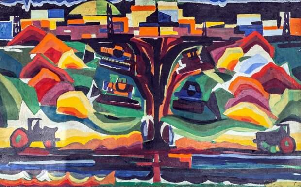 В ДК «Берендей» открылась выставка картин Джаида Джемаля