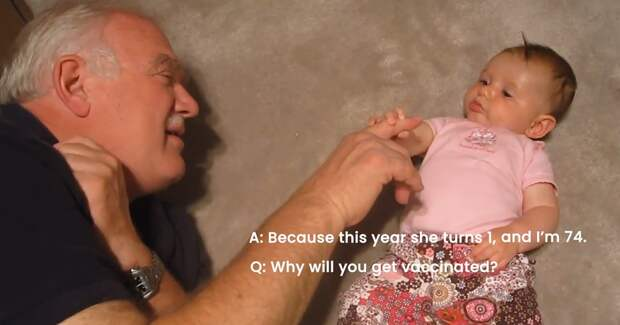 Рекламная кампания Pfizer ответила на вопросы о вакцинации