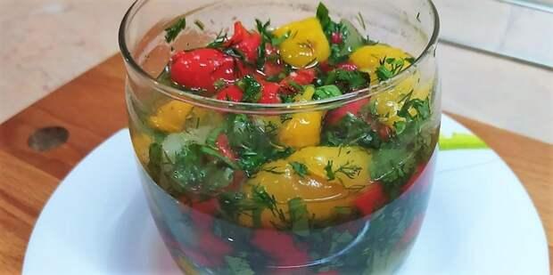 Вкусная закуска из перцев: готовлю всегда (простой рецепт)