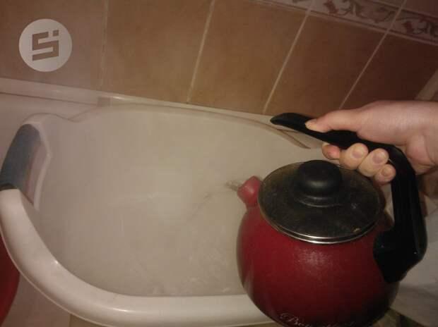Жителям домов в центре Ижевска отключат горячую воду
