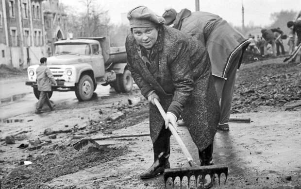 Советская весна в фотографиях