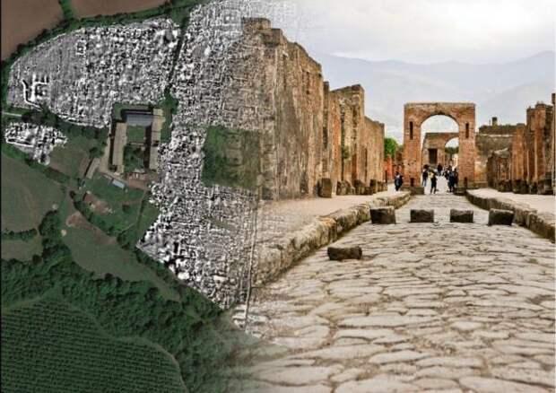 Археологам удалось без раскопок составить карту древнеримского города
