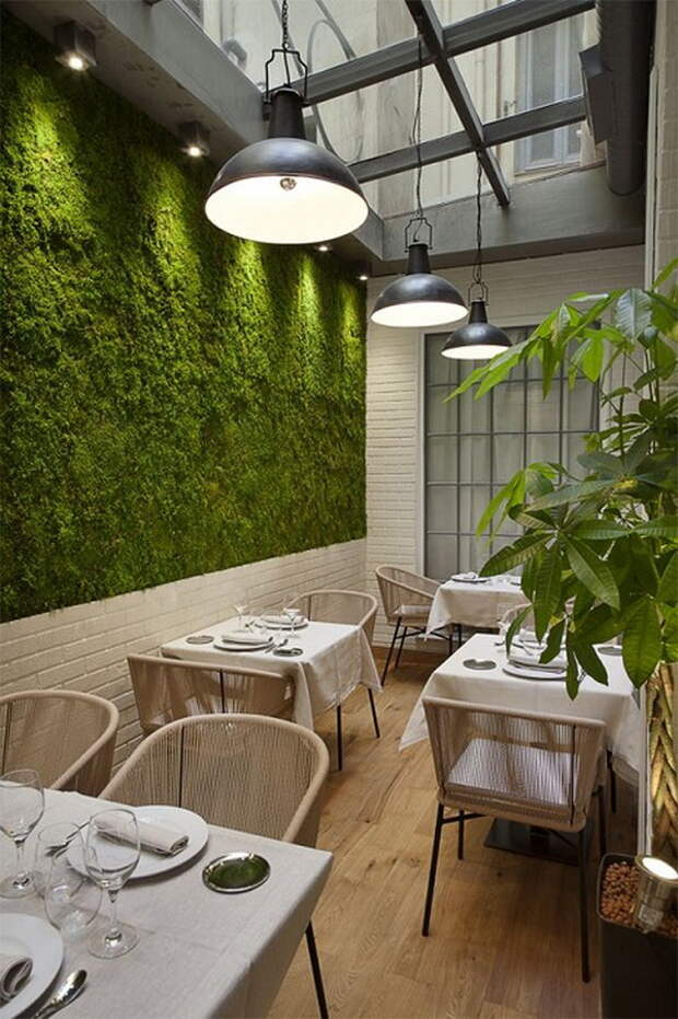 20 ресторанов с оригинальными интерьерами как идеи для дизайна квартиры или загородного дома.