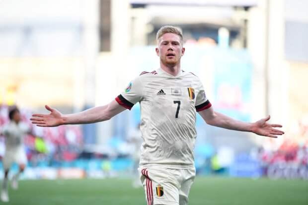 Сборная Бельгии победила Данию на Евро-2020 и возглавила группу В