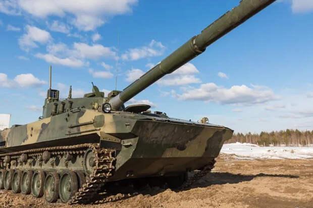 Плавающий танк «Спрут» испытают сибирскими морозами