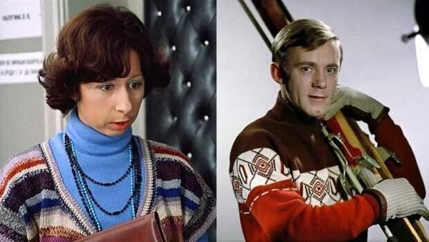 Лия Ахеджакова и Валерий Носик знаменитости, кино, ссср, супружеские пары, факты