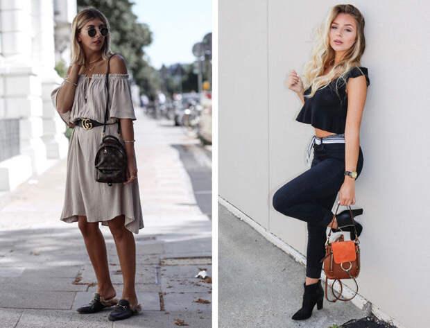 стильный женский рюкзак фото