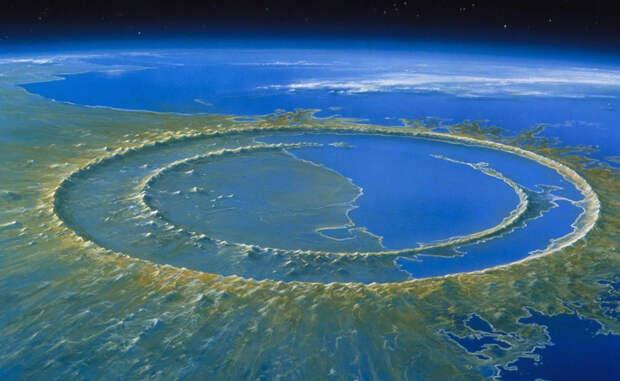 Гигантские кратеры, которые нашли на Земле