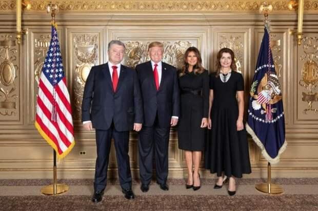 Пользователи Сети бурно отреагировали на фото Порошенко и Трампа