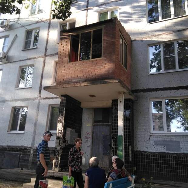 Переходим к красивым балкончикам балконы, крутость. архитектура, строительство, фасад