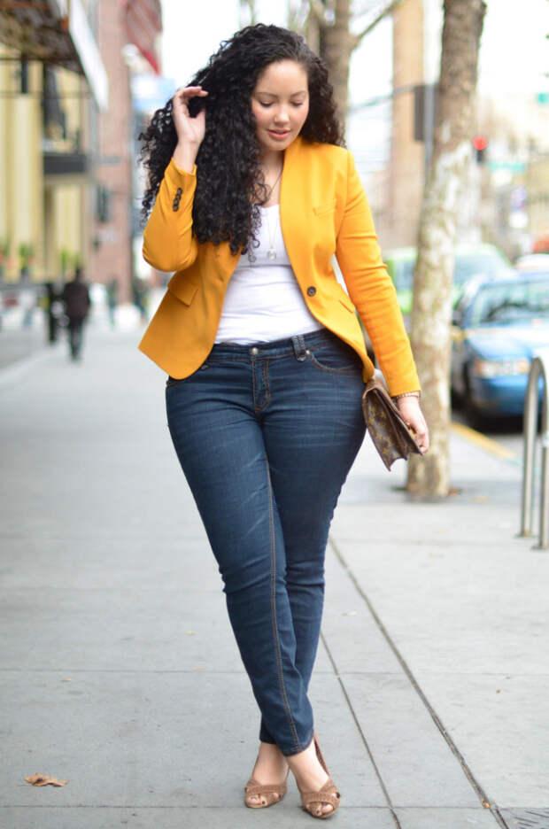 Какие джинсы подходят полным девушкам: подбираем идеальный вариант