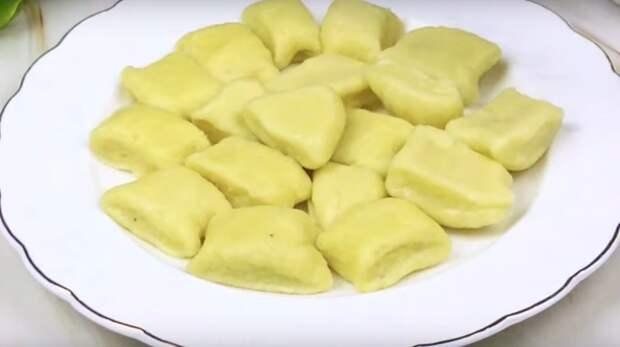 Ленивые вареники из картофеля: вкусно и просто