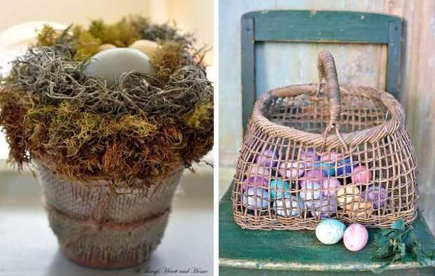 Украшаем яйца к Пасхе. Идеи.