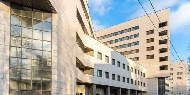 Собянин: Центр амбулаторной онкопомощи в Боткинской больнице готов к открытию. Фото: М. Мишин mos.ru