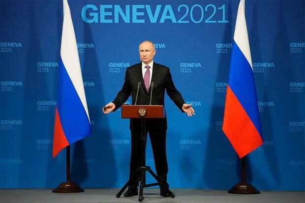 Путин: гонка вооружений идет не по вине России