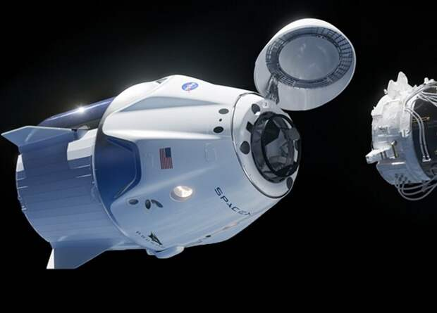 Экипаж МКС закроет межсегментные люки во время первой стыковки с Crew Dragon