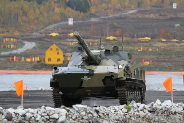 """Индия ведет переговоры о закупке российских легких танков """"Спрут-СДМ1"""""""
