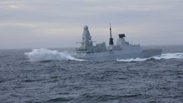 BBC представил уникальные кадры с борта нарушившего границу РФ британского эсминца