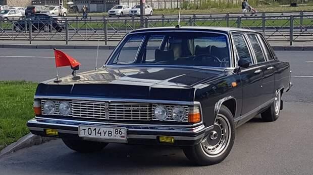 ГАЗ-14 автомобили, газ, фоторепортаж