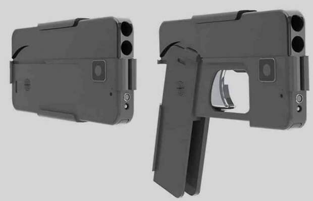 Опасная мимикрия: в Штатах стартовали продажи пистолета, стилизованного под смартфон