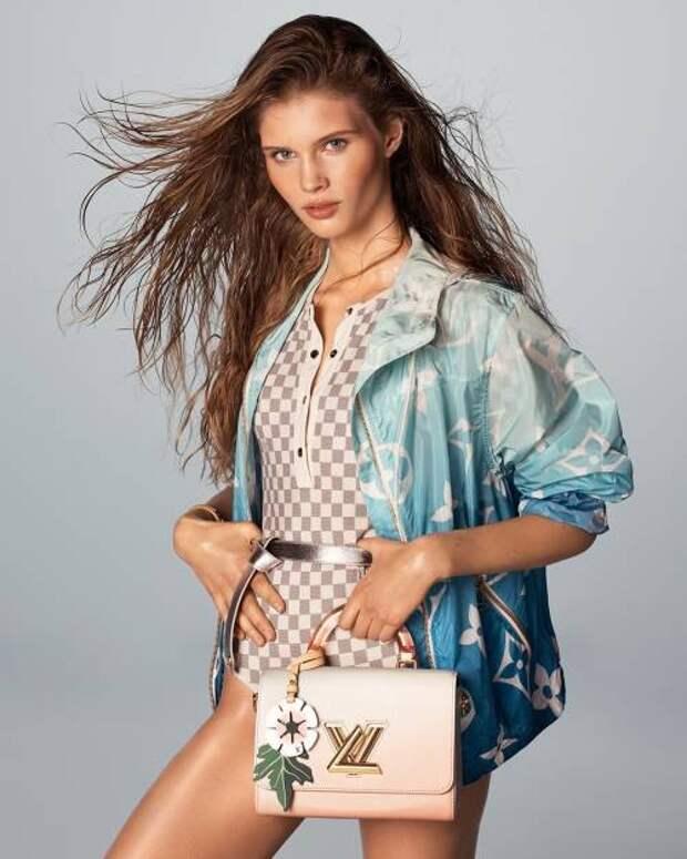 Океанский бриз и пастельный градиент: Louis Vuitton показал кампанию весна-лето 2021