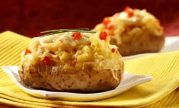 Рецепт на выходные. Ах, картошечка печёная моя!