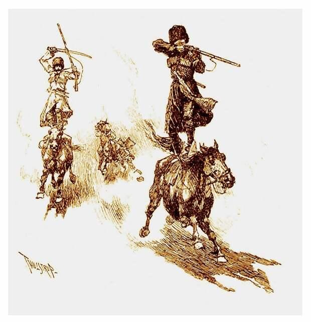 """Дети срама и ослиное стадо"": 3 вида джигитовки на юге Кавказа. Казаки против ..."