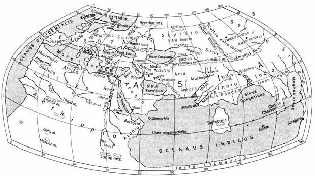 9. География(«Космография»). Птолемей (Ptolemy's «Geographia» aka «Cosmographia») книги, миллионы, факты