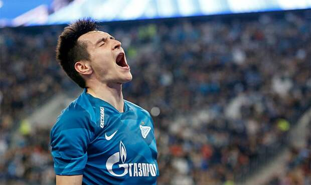 Караваев признан лучшим игроком матча «Зенит» — «Ахмат»