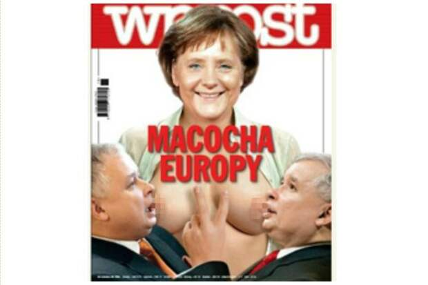 Госпожу Меркель они любя особой любовью издания, издевательство, интересное, мир, обложки, политики, странное