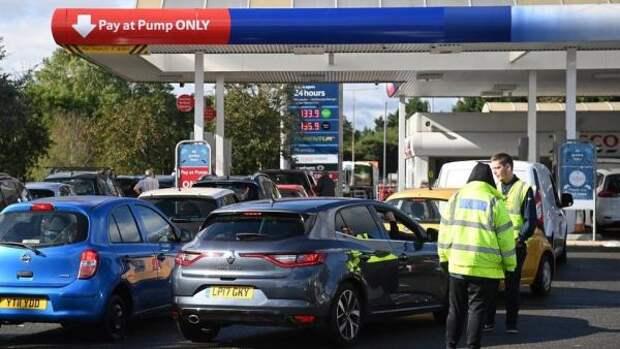 Цены на заправках в Великобритании достигли восьмилетнего максимума