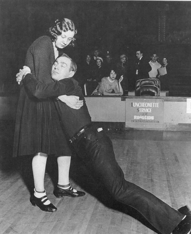 Танцы до упаду на танцевальных марафонах 1920-30-х годов