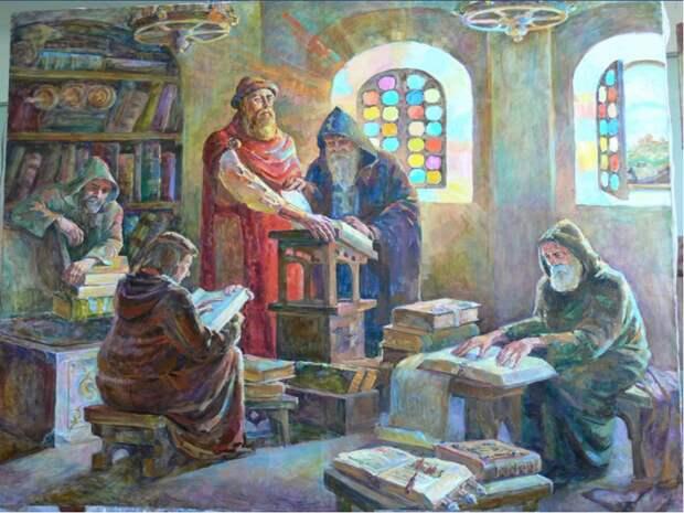 Церковнославянский язык в таблицах