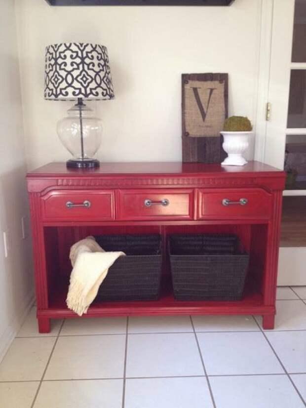 Как превратить ненужную мебель в стильные и полезные предметы